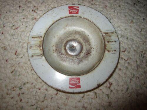 Vintage Coca Cola Metal Ashtray!!!!!
