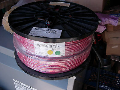 1000 Feet New Belden Wire 4 Conductor 14 Solid Shielded Fire Alarm Cable