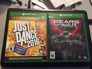 Gears of war + just dance 2016 Xbox one (trade/sell)