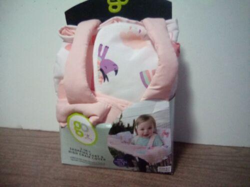New Go Goldbug 2 in 1 Baby  Shopping Cart High Chair Cover Llama Unicorn Rhino