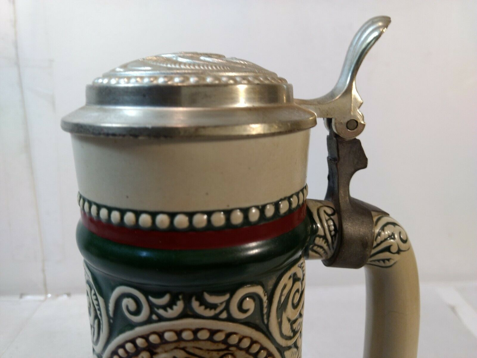 Avon anglais setter truite à couvercle chope bière stein hd2041