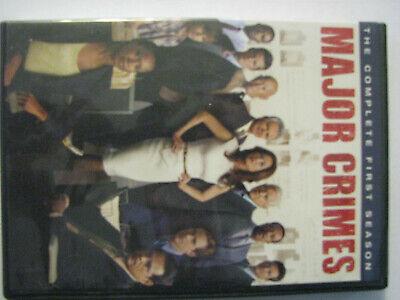 Major Crimes: The Complete First Season (DVD, 2013, 3-Disc Set) ()