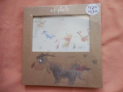 BOOTS NEW AND SEALED DISNEY EEYORE 6 X 4 PHOTO FRAME FREE POSTAGE