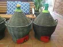 Im selling 5 demijohns at $80 each negotiable if buy all 5... Rosemeadow Campbelltown Area Preview