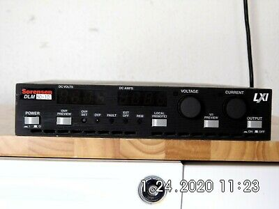 Sorensen Dlm60-10 M130m43 Dc Power Supply 0-60v 10a Lxi Ethernet