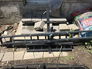 Tow Hitch Motorcycle Carrier