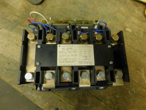 Yaskawa Magnetic Contactor HV-150AP 4