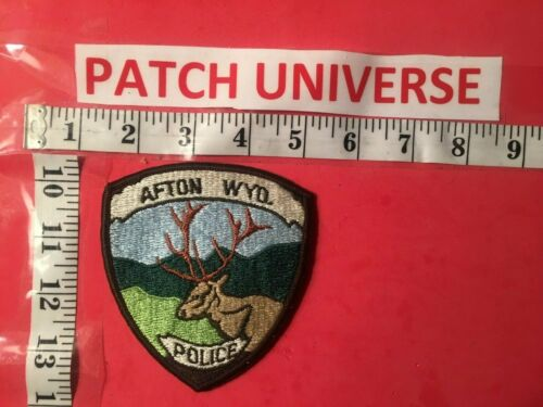AFTON  WYOMING  POLICE  SHOULDER PATCH  O011