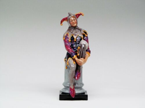 """Royal Doulton Figurine THE JESTER HN 2016 Hand Made and Hand Decorated. 9 1/2"""" H"""