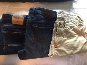 Boys 30-32 jeans and khakis