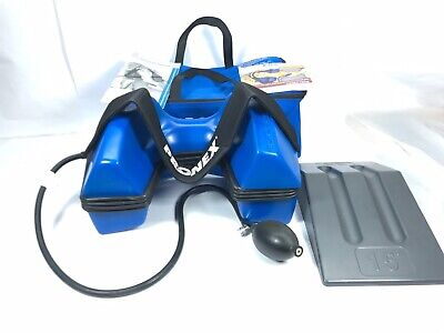 PRONEX Pneumatic Cervical Traction System Device LARGE w/ Bag. Cleaned Tested Pronex Cervical Traction Device