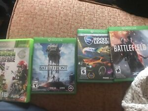 Xbox one and one Xbox 360 game