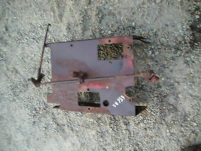 Farmall 656 Rowcrop Tractor Dash Bottom Behind Battery