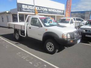 2010 Nissan Navara DX 2.5TD 4x4 Tray Top West Busselton Busselton Area Preview