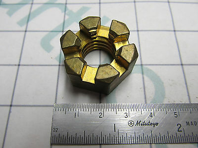 314503 0314503 Marine Propeller Castle Nut Evinrude Johnson OMC Cobra