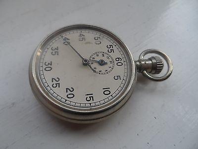 Vintage Dennison Metal Stop Watch No Reserve