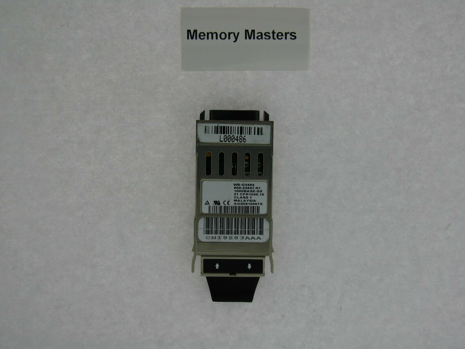 Cisco WS G5484 1000Base SX Fiber GBIC Module 800 23857 01