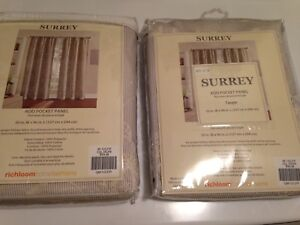 NEW!!! Two New Curtain Panels  (Still Available)