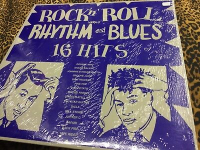 ROCK 'N' ROLL VERSUS RHYTHM AND BLUES - VINYL Compilation **NEW** Sealed
