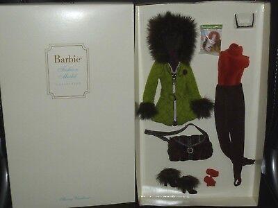 Silkstone Barbie Skiing Vacation Fashion By Robert Best ~ NRFB ~