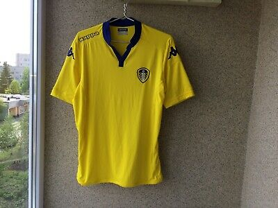 Leeds United Away football shirt 2015/2016 Jersey XL Kappa Soccer Camiseta for sale  Shipping to Canada