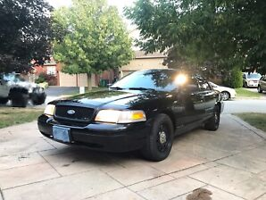 2010 Ford Crown Victoria for sale. Low mileage low idling hours