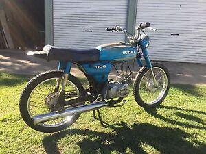 Suzuki A100 motorcycle Aspley Brisbane North East Preview