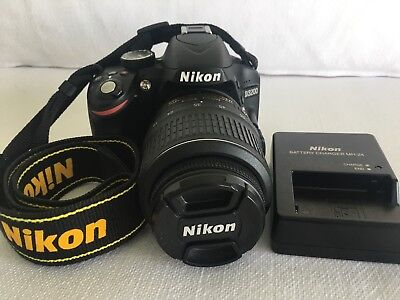 Nikon D3200 24.2MP Digital SLR Camera -- used 5 time only-- (MINT CONDITIONS)