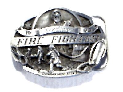 Arroyo Grande Belt Buckle American Fire Fighter 1993 Commemorative Ltd Ed #3138