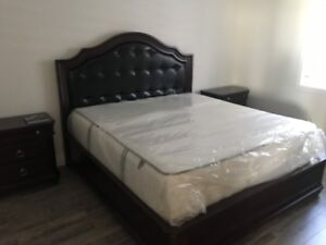 King size bedroom complete 4 piece