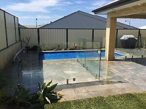 $290pm FRAMELESS GLASS POOL FENCING Jandakot Cockburn Area Preview