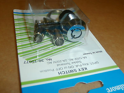 Ace Lock Round Key Switch Dpstphilmore 30-10077