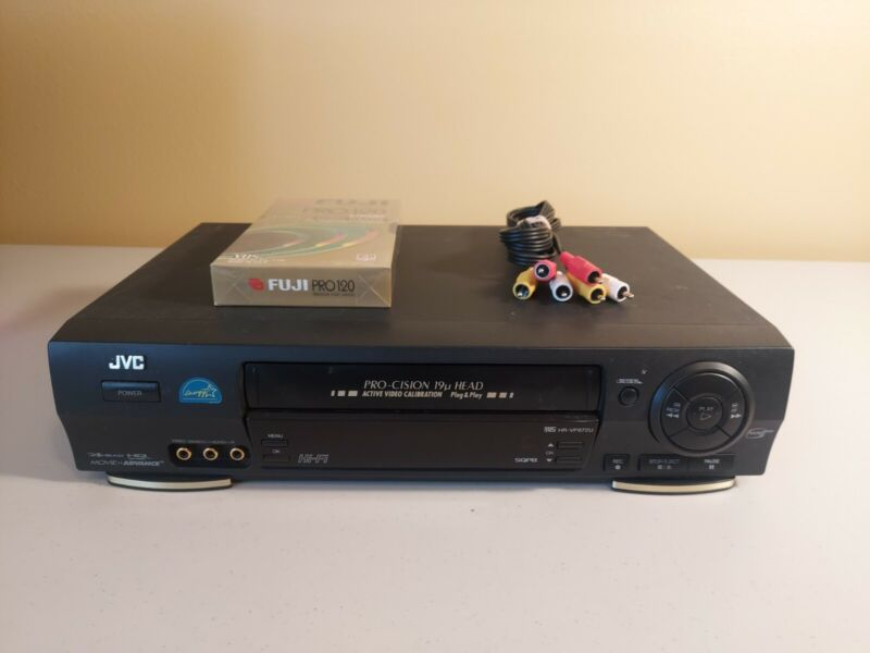 JVC HR-VP672U VCR VHS Player Recorder -  Tested Working **No Remote**