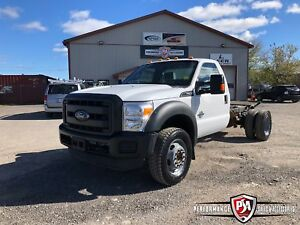 2015 Ford F-550 XL CAB & CHASSIS 4X4 POWERSTROKE DIESEL