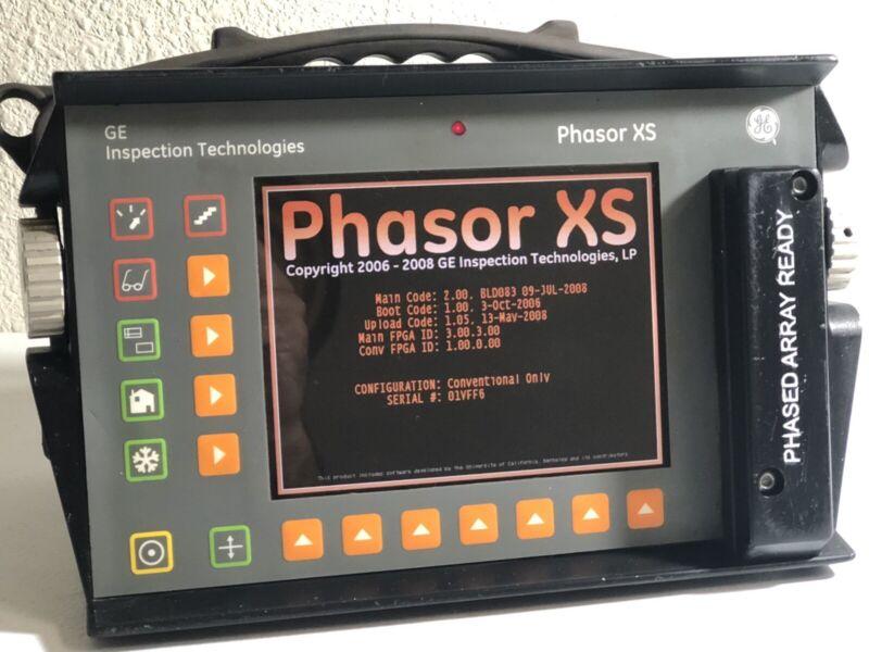 Krautkramer Branson GE Phasor XS Flaw Detector #2