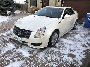 2011 Pearl white Cadillac CTS awd private sale