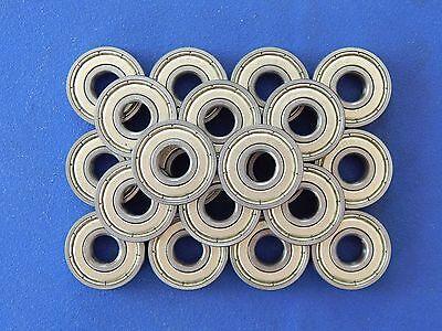 20 Stück 608 ZZ  Kugellager, Miniaturkugellager (2Z) (8x22x7 mm)