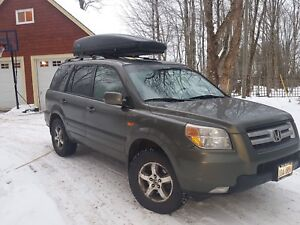 Honda Pilot fully loaded