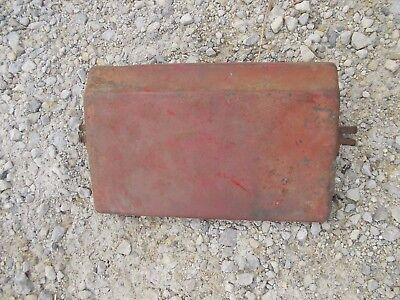 Farmall M Mv Early Super M Tractor Battery Box Original Top Cover Lid