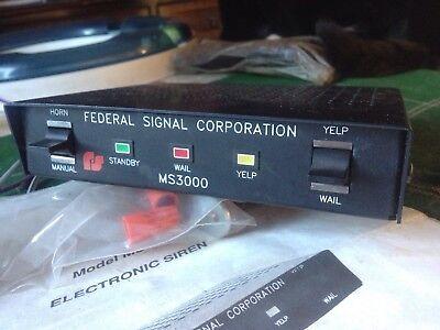 Federal Signal Siren MS3000