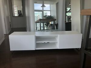 IKEA White BESTÅ TV Bench/TV unit/Media Unit