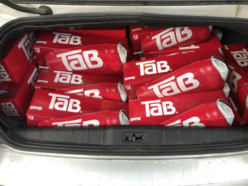 Tab Soda 12 Oz Pack Can.. RARE Coca-cola Tab Brand New 12 Cans Discontinued