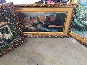 Paint new but damaged frame