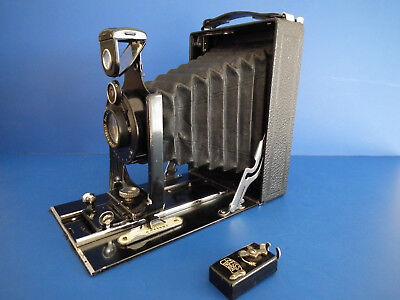 Zeiss Ikon Ica Sirene 135/1 Blattenkamera mit ein wenig Zubehör
