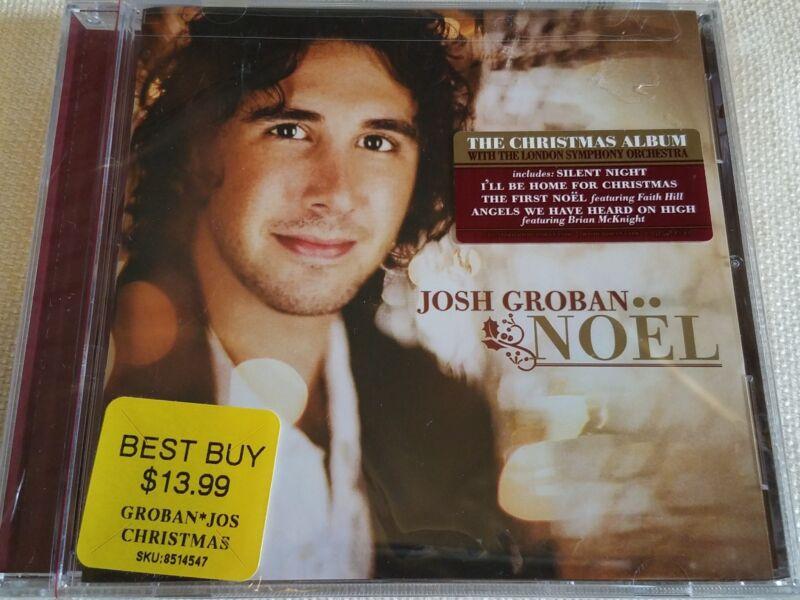 JOSH GROBAN 13 TRACK NOEL NEW FACTORY SEALED CD | PolyBull.com