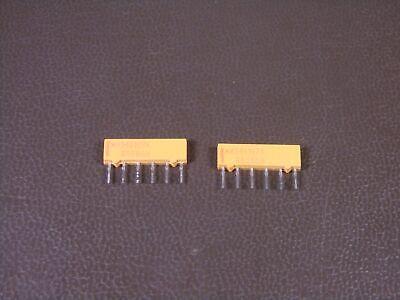 Lot Of 4 M8340107ka008gh Vishay Dale Resistor Network 220330ohm 35w 2 Nos