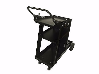 Mig Tig Arc Welder Cart Universal Storage For Tanks Accessories Wheels