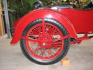 Vintage Harley Davidson Sidecar 1952 Macgregor Brisbane South West Preview