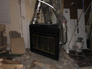 Free gas fire place