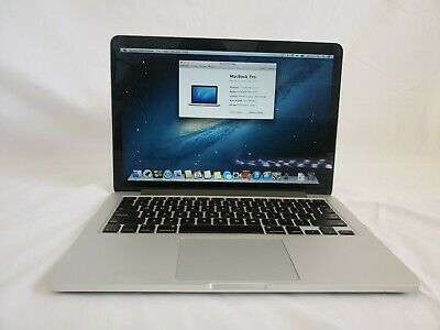 Apple MacBook Pro 13in Retina (Late 2012) i5 2.5ghz 8gb RAM 120gb SSD.